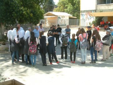 Students from various schools and backgrounds join together in environmental education activities