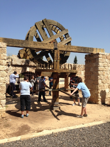 Field trip to ancient water well & aqueduct