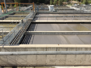 Field trip to water reclamation plant responsible for treating all sewage from Jerusalem. Similar field trips are used within the Hands Across Waters program as opportunities to educate students and promote cross-cultural exchange.